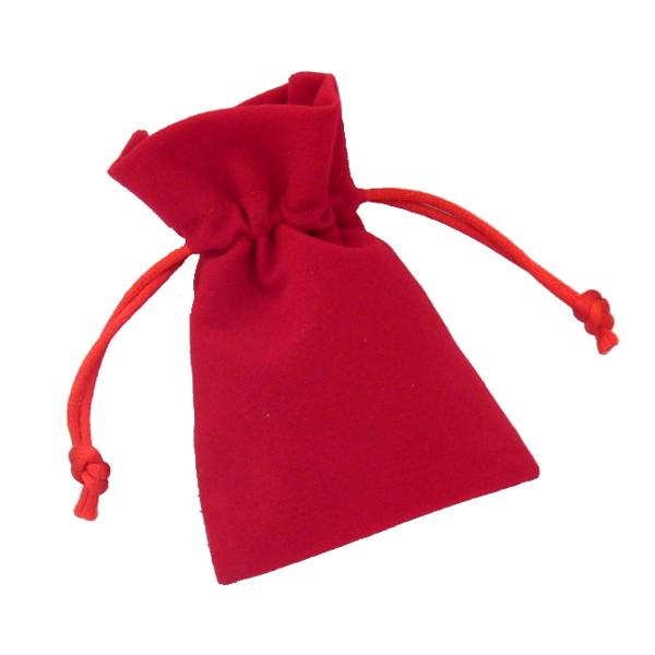fluweel rood 7x12cm