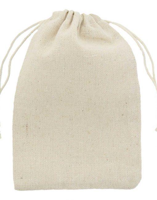 linnen zakje 10x15cm