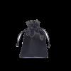 zwart satijn 10x15cm