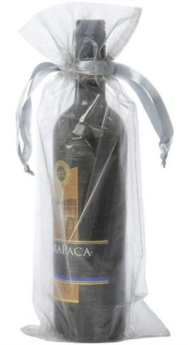 wijnfleszak zilver 15x38cm