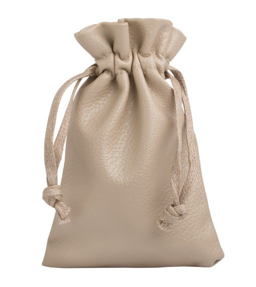 leather look beige 10x15cm