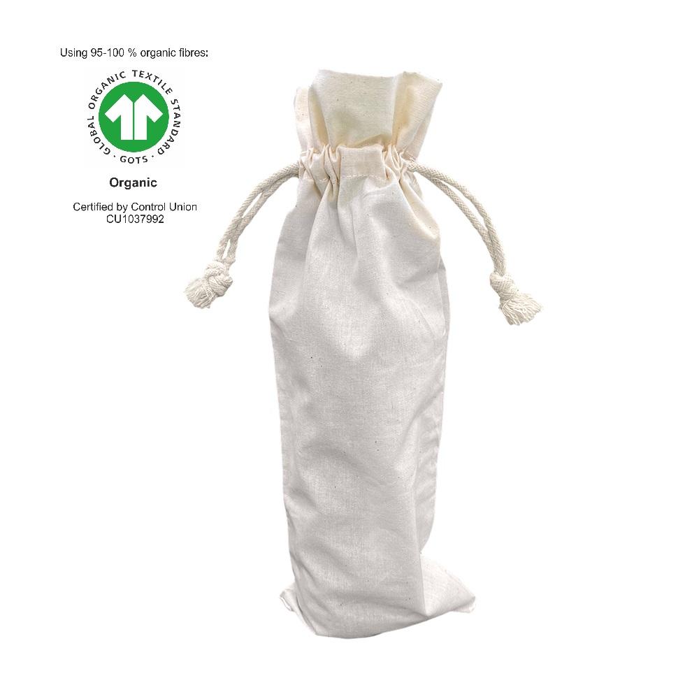 Ecological Cotton Wine Bag 116 gr